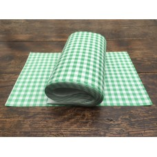 Green Gingham Duplex Paper  1000 sheets